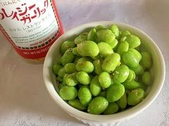 枝豆のクレイジーガーリック炒め