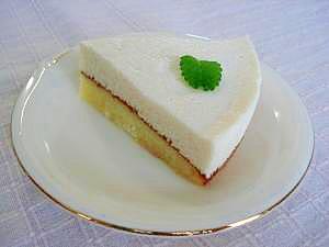 豆腐と卵白のムースケーキ