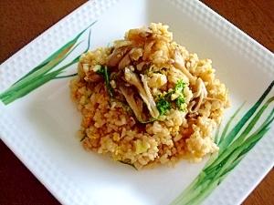 玄米ご飯で