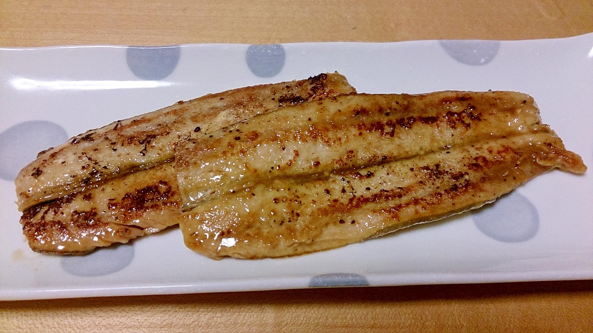 秋刀魚の蒲焼き★めんつゆで簡単楽々