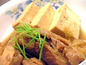 牛スジのすき煮風