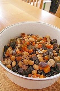 我が家の常備菜☆大豆の甘辛煮