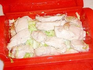 シリコンスチーマーで!鶏むね肉の塩麹蒸し