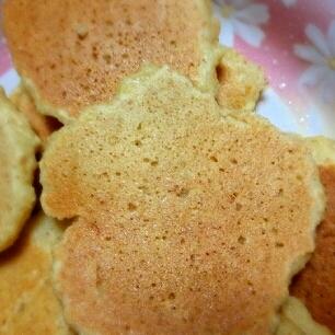 おからを使ってヘルシー☆おからパンケーキ♪