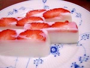 いちご 牛乳 レシピ