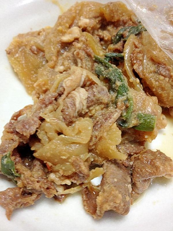 玉ねぎの韓国風煮込み