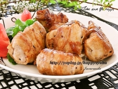 新玉ねぎの豚バラ肉巻き☆ポン酢ソテー