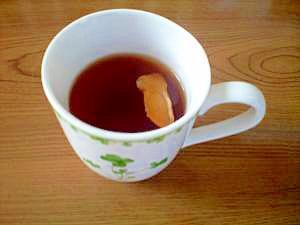 乾燥しょうがでポカポカ紅茶