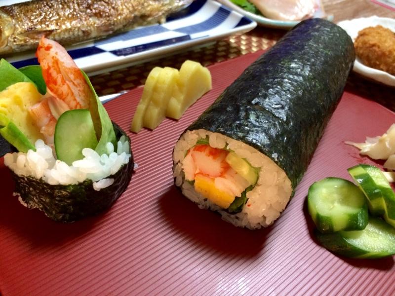 節分に海鮮苦手な方に絶品サラダの恵方巻き!!