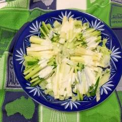 グリーンサラダ わさびマヨ ♪