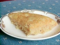 炊飯器でリンゴケーキ(玄米モード編)