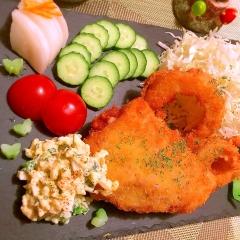 チーズin鱈フライ