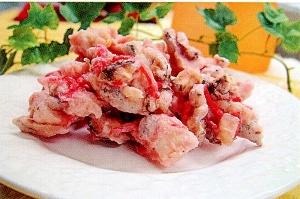 菜食すり身と椎茸のかき揚げ