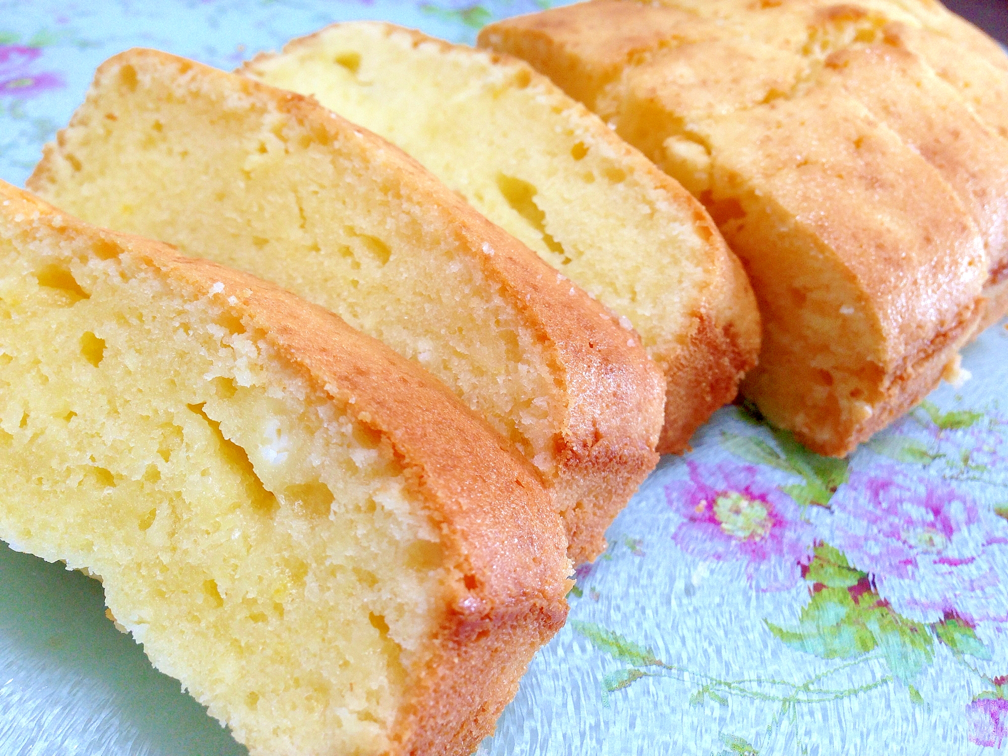 ふんわり濃厚☆クリームチーズのパウンドケーキ