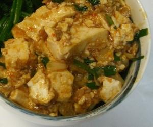 我が家のマーボー豆腐