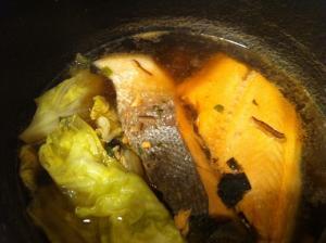鮭キャベツ煮