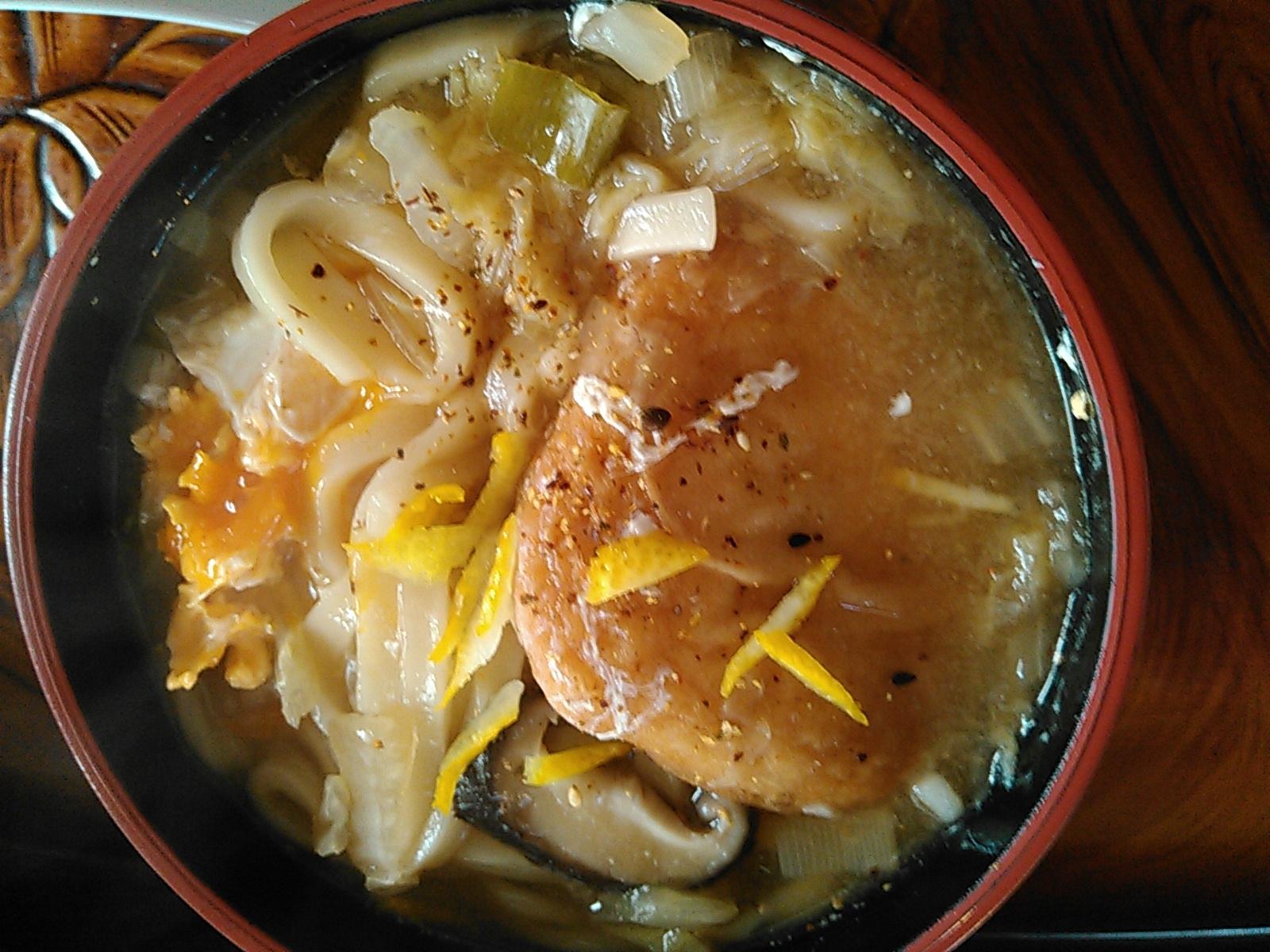 冬野菜とろとろ柚子香るおうどん レシピ・作り方 by あけぼのマジック|楽天レシピ