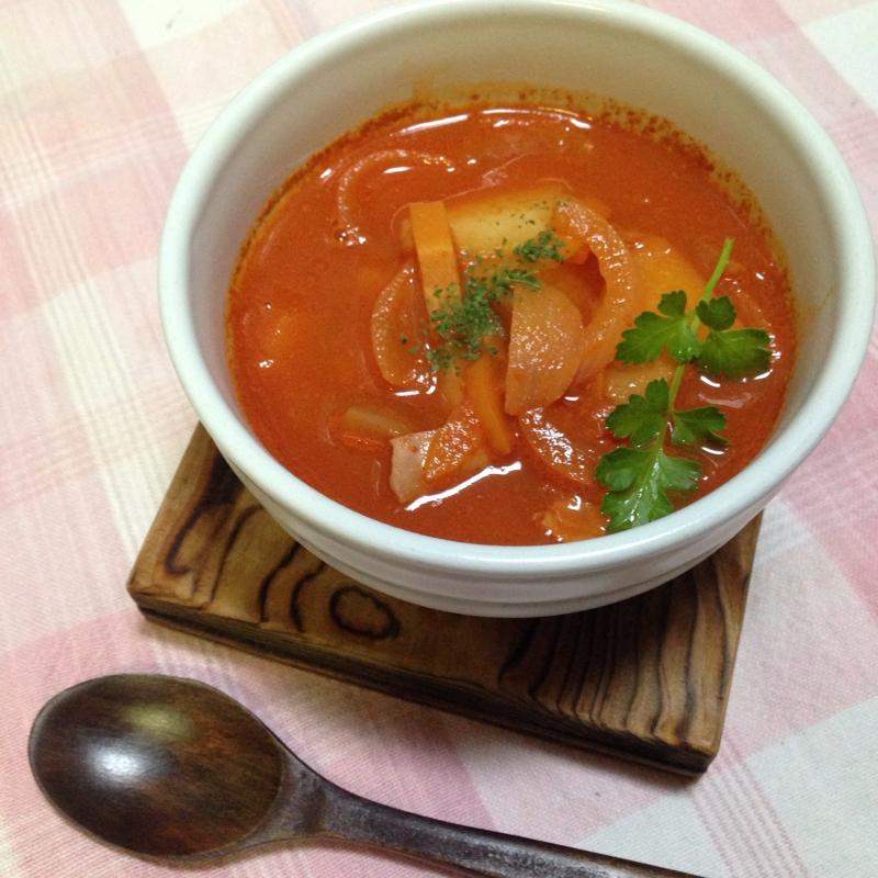 2. 野菜ジュースで作る野菜スープ