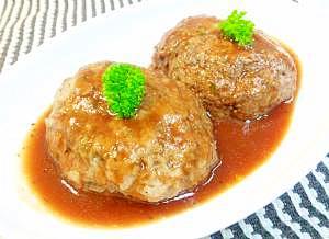 スチーマーde豆腐ハンバーグ