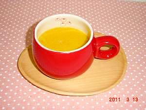 豆乳入り南瓜スープ♪