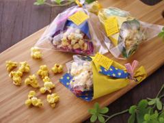 【楽天市場商品で作る】かわいい花束ポップコーン