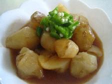 初めての野菜!菊芋の煮物 レシピ・作り方