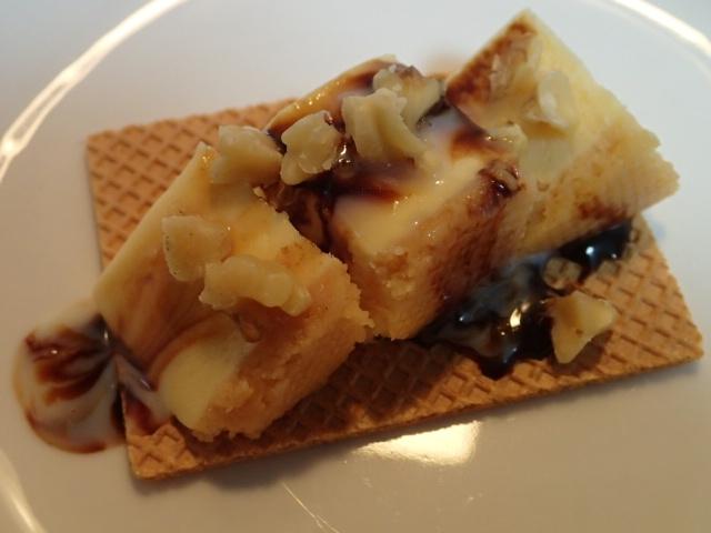 ミルキーチョコ胡桃とチーズケーキのクラッカー