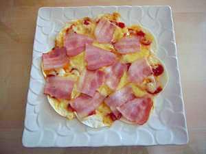 超簡単!!美味しい餃子ピザ