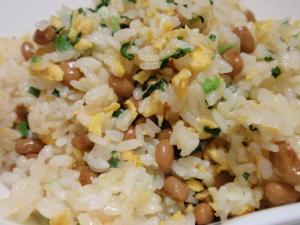 栄養たっぷりで美味しい!!納豆チャーハン