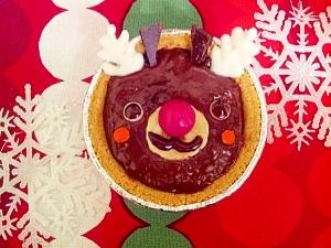 クリスマスに☆チョコバナナトナカイさん☆
