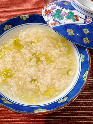 1. 炊飯器で胃にやさしい本格中華粥