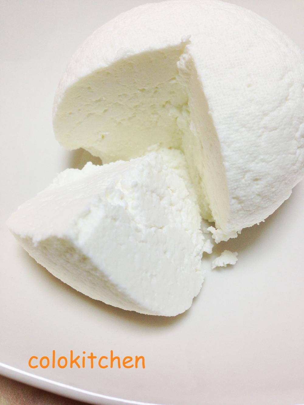 牛乳とホエーだけ!!リコッタチーズを作ろう