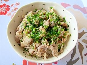 塩麹と豚こま肉でネギ塩丼☆コンビニ弁当風 レシピ・作り方