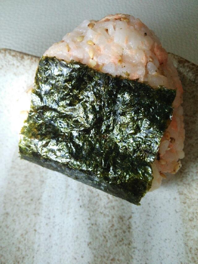 鮭マヨおにぎり☆