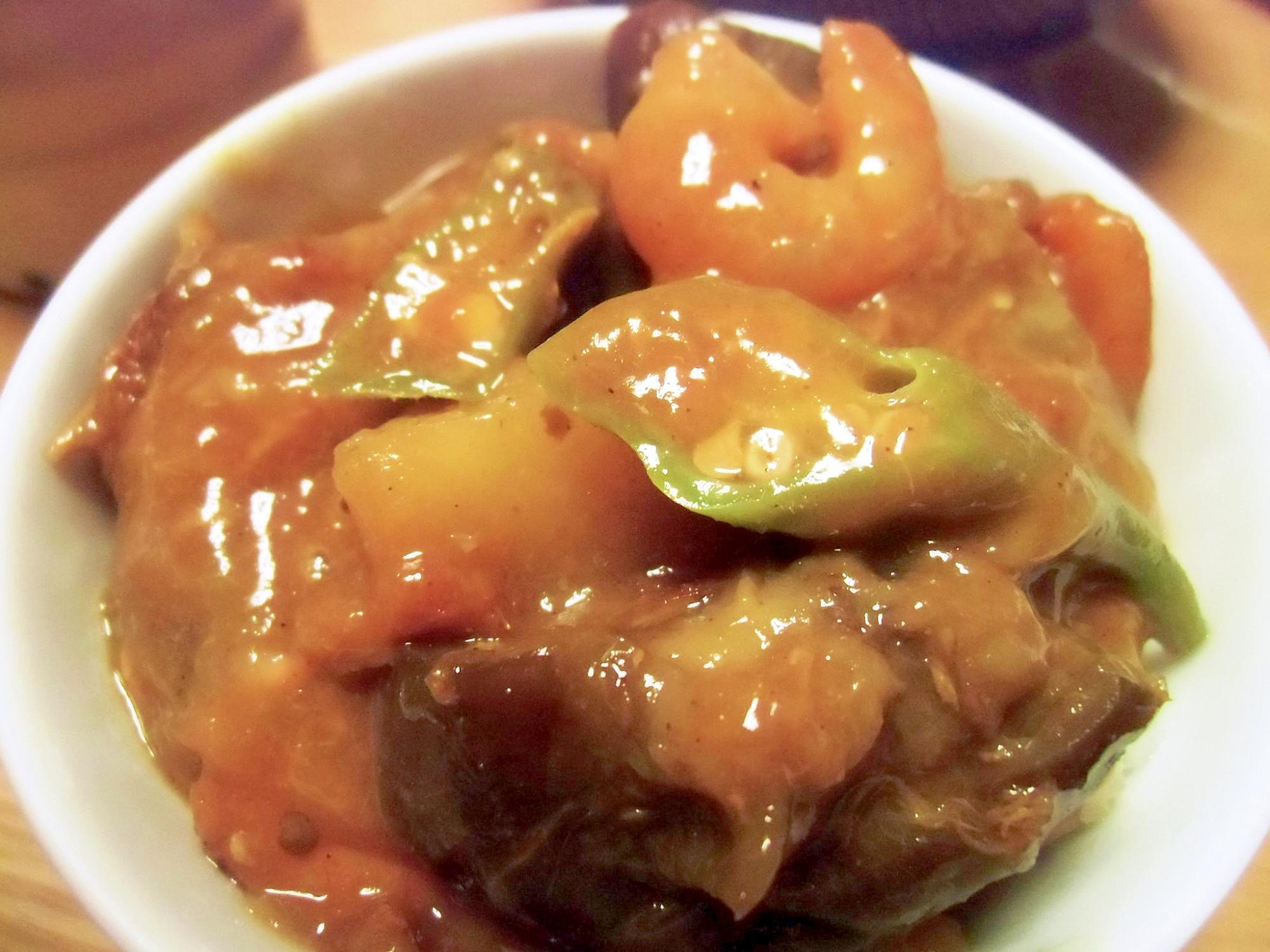夏野菜とツナのカレー