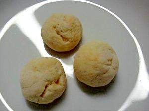 袋一つで☆丸いチーズクッキー