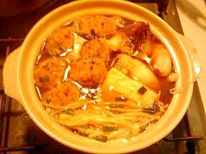 タコ団子鍋