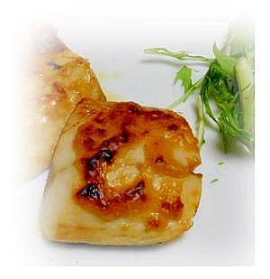 サバの味噌マヨ焼き