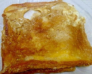 黒糖シロップ・フレンチトースト