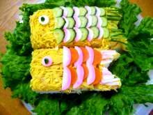こどもの日★こいのぼり寿司