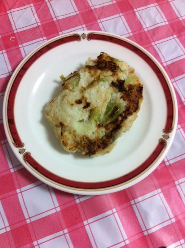 カラダにやさしい大和芋のお焼き