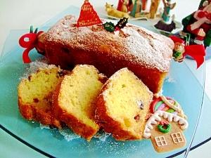 ホットケーキミックスでなんちゃってクリスマスケーキ