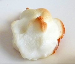 余った卵白で オーブントースターでベイクドメレンゲ