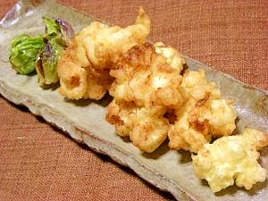 【塩麹で下味】真鱈の白子のカリッとモチッな天ぷら