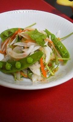春にぴったり中華風春野菜サラダ