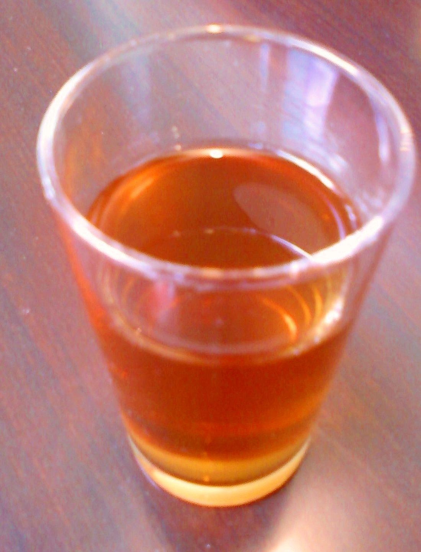 ★・オレンジ絞り汁とウーロン茶の焼酎割り☆*:・★
