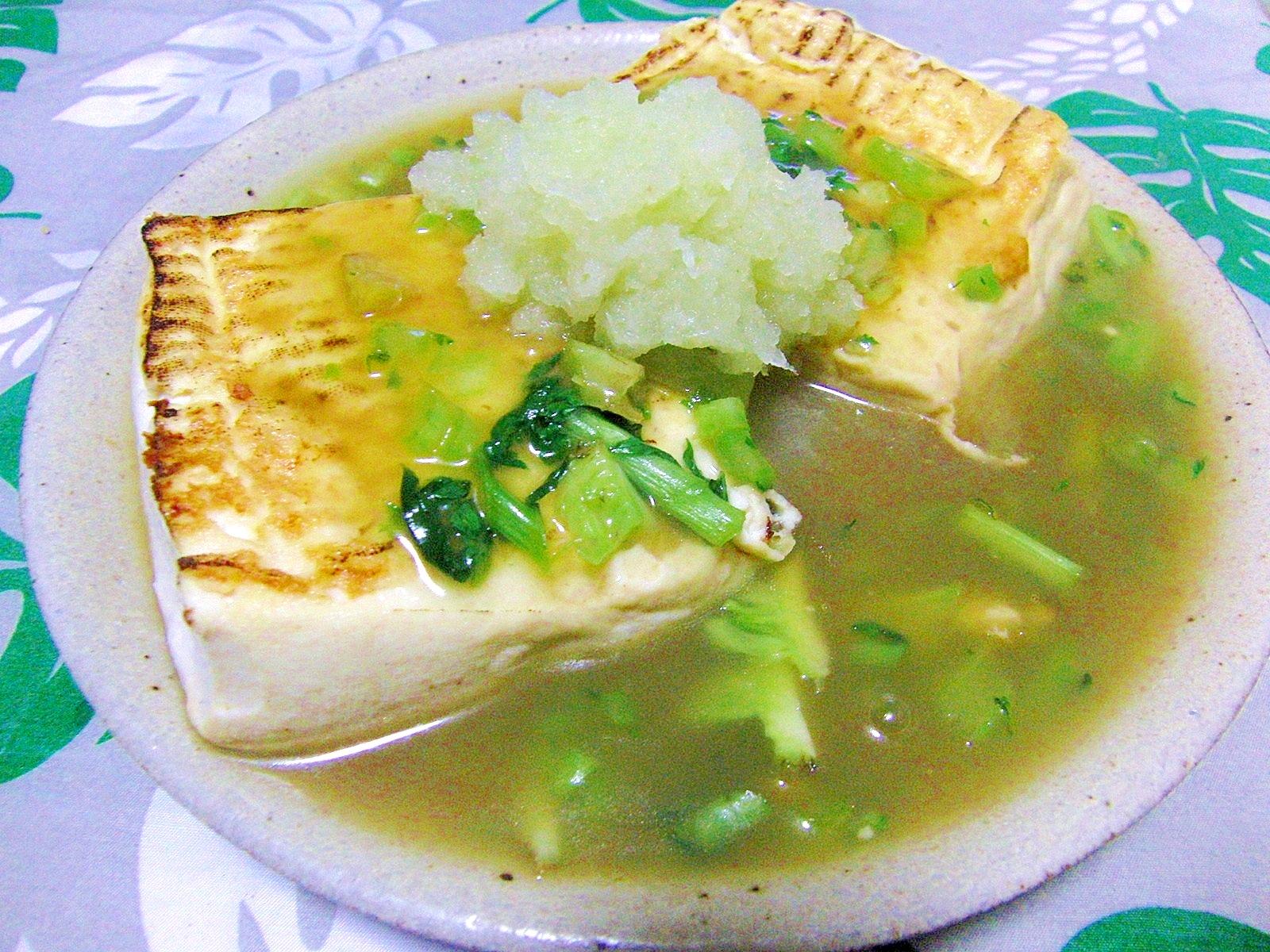 3. 昆布茶を使った和風豆腐ステーキ