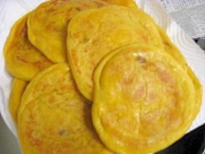 韓国のお菓子★かぼちゃフレークのホットク