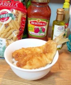 梭魚(かます)の天丼・お惣菜で簡単に☆