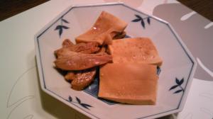 テンメンジャンで!高野豆腐の豚バラはさみ煮